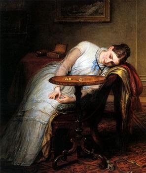 期待と不安◇チャールズ・ウェスト・コープ(1811~1890)イギリス