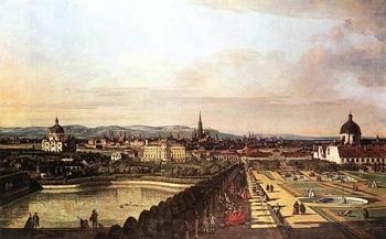 望台からのウィーン◇ベルナルド・ベロット(1720-1780>